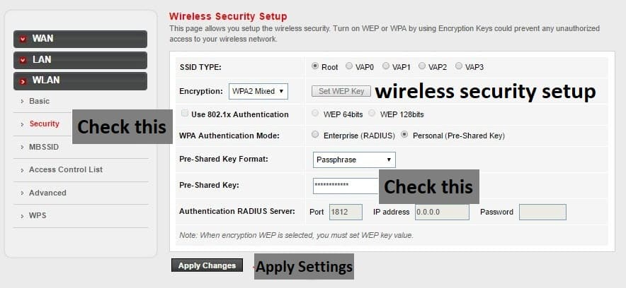 Change PLDT Wifi Password
