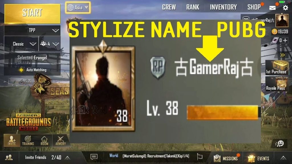 350 Best Pubg Names 2019 Cool Funny Profile Clan