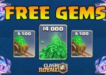 free clash Royale gems