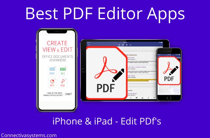 Best PDF Editor Apps