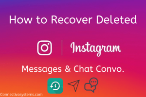 Recover deleted Messages on Instagram