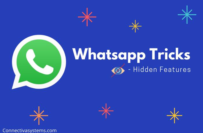 Whatsapp Tricks - Hidden features