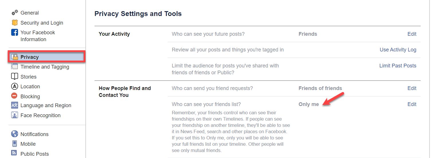 How To Hide Friends On Facebook