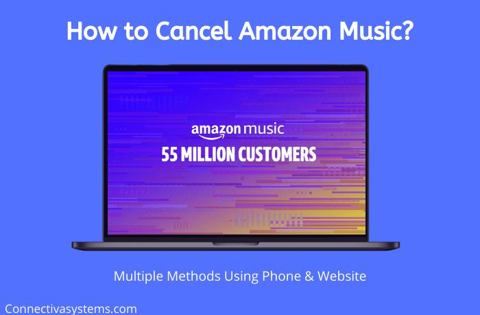 How to Cancel Amazon Music