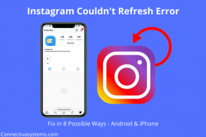 Instagram Couldn't Refresh