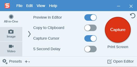 Cara screenshot di HP menggunakan Snagit