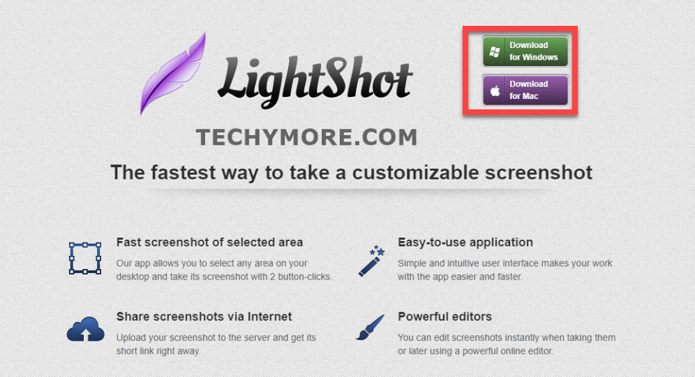 How to screenshot on HP with Lightshot