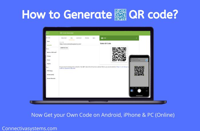Generate QR Code Online