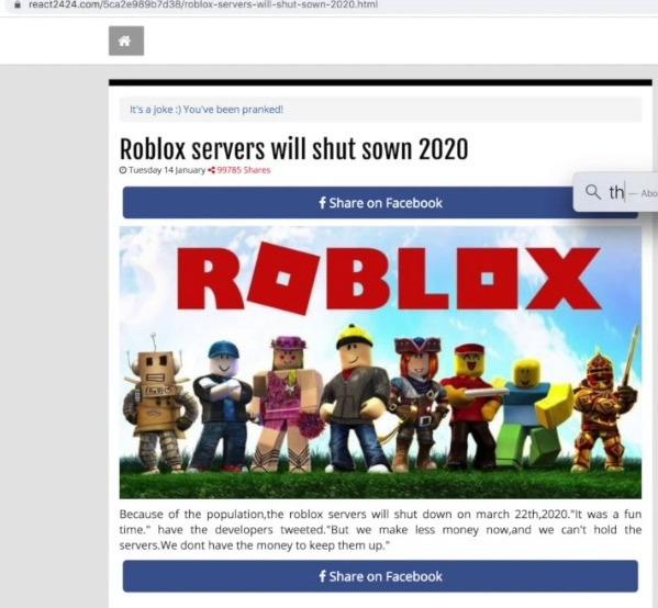 Is Roblox Shutting Down In 2020 Truth Explained