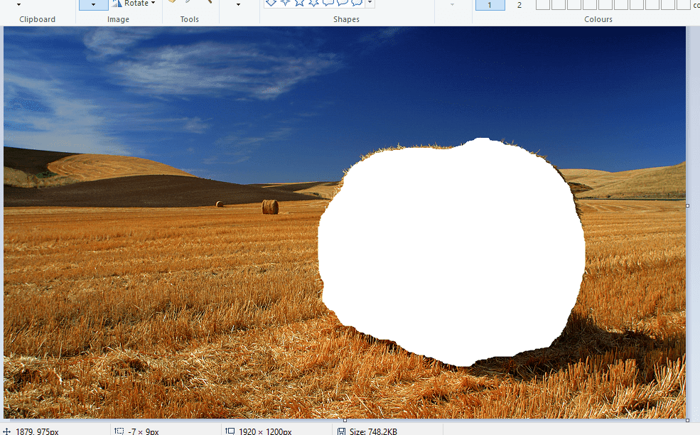 How to make a transparent background in paint ent background