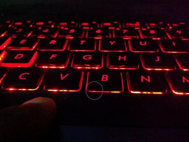 asus gl552 keyboard light not working
