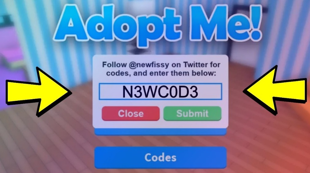 Adopt Me Codes Roblox Active List For August 2020