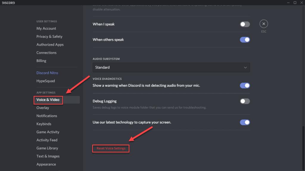 discord screen share no audio mac