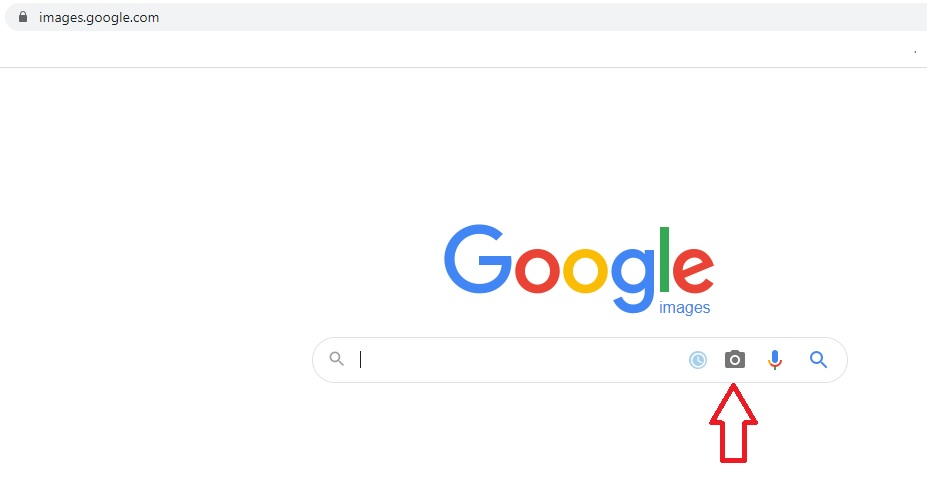 Face search with Google Images