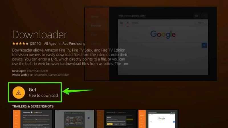 How to install an app on firestick