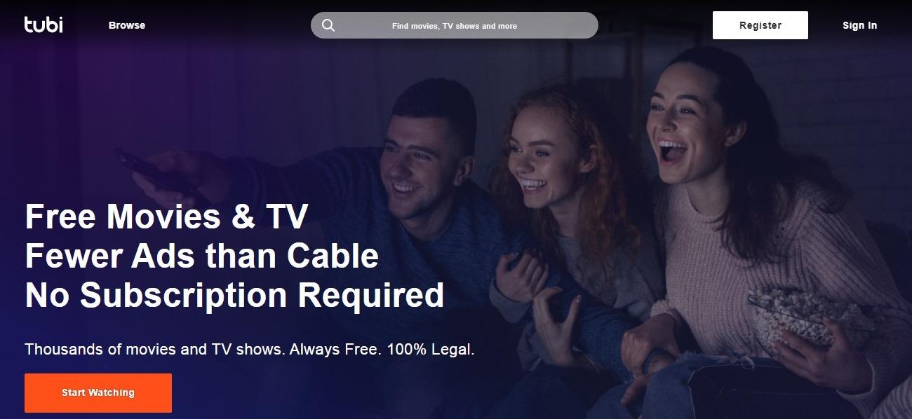 Putlocker Alternatives #8- Tubi TV