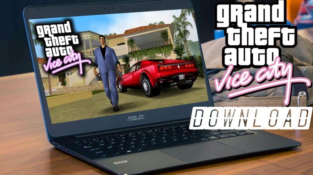 download GTA Vice City in Laptop