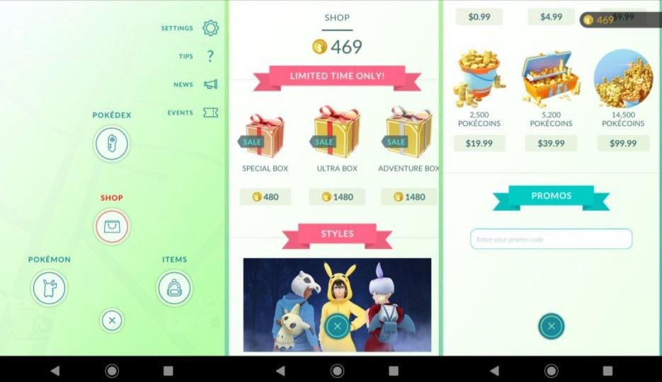 Redeem Pokemon Go Promo Codes